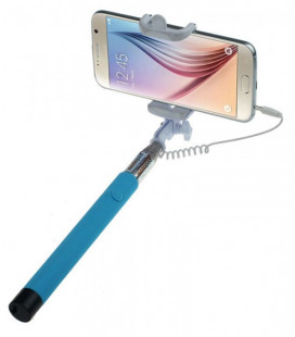 Monopod cable 3.5mm blue