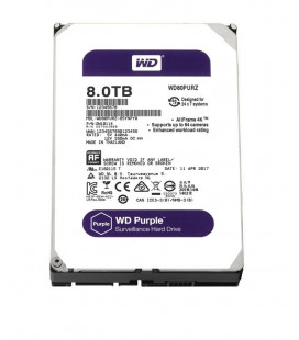 HDD SATA 8.0TB WD Purple 5400rpm 128MB (WD80PURZ) Гар. 36 мес.