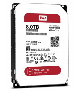 HDD SATA 8.0TB WD Red Pro 7200rpm 128MB (WD8001FFWX) Гар. 60 мес.