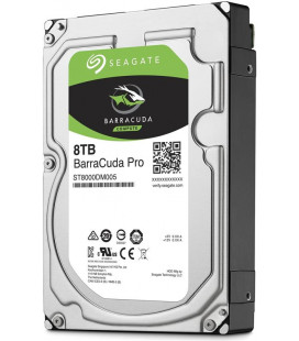 HDD SATA 8.0TB Seagate BarraCuda Pro 7200rpm 256MB (ST8000DM005) Гар. 60 мес.