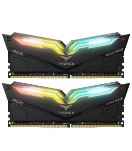 ОЗУ DDR4 2x8GB/3200 Team T-Force Night Hawk RGB Black (TF1D416G3200HC16CDC01)