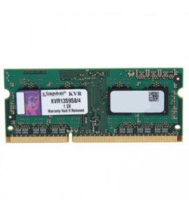 ОЗУ для ноутбука SO-DIMM 4GB/1333 DDR3 Kingston ValueRAM (KVR13S9S8/4)