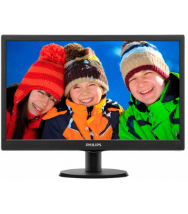 "Монитор Philips 18.5"" 193V5LSB2/62 Black Гар. 24 мес."