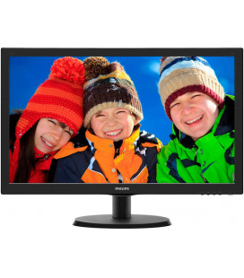 "Монитор Philips 21.5"" 223V5LHSB/01 Black Гар. 24 мес."