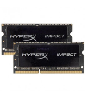 Память Kingston  HyperX Impact DDR3 1866 8GBx2 ,1.35V, SO-DIMM (HX318LS11IBK2/16) Гар. 60 мес.