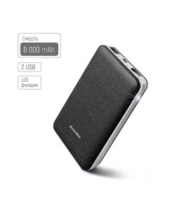Power Bank ColorWay 8000mAh Black (CW-PB080LPA2BK)