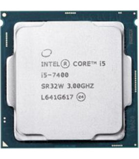 Процессор Intel Core i5 7400 3GHz (6MB, Kaby Lake, 65W, S1151) Tray (CM8067702867050) Гар. 12 мес.