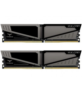Модуль памяти DDR4 2x8GB/3200 Team T-Force Vulcan Gray (TLGD416G3200HC16CDC01) Гар. 99 мес.
