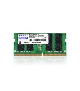 Модуль памяти SO-DIMM 16GB/2133 DDR4 GOODRAM (GR2133S464L15/16G) Гар. 99 мес.
