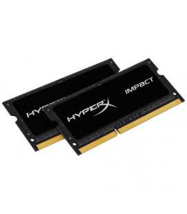 Память SO-DIMM 2x4GB/1600 1,35V DDR3L Kingston HyperX Impact (HX316LS9IBK2/8) Гар. 99 мес.