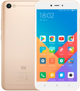 Xiaomi Redmi 5A 2/16Gb Gold EU - Global Version Гар. 3 мес.
