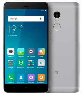 Xiaomi Redmi Note 4 Pro 3/32Gb Grey Global Version (Snapdragon) EU  Гар. 3 мес.