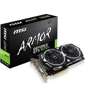 Видеокарта MSI GeForce GTX 1070 Ti ARMOR 8G (под заказ 7-10 дней)