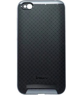 Накладка Xiaomi Redmi5A black/grey iPAKY