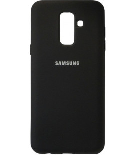 Накладка SA A6+ (2018) A605 black Soft Case