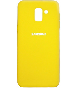 Накладка SA J6 (2018) yellow Soft Case