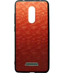 Накладка Xiaomi Redmi5 Plus red мозаика Motomo