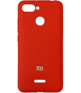 Накладка Xiaomi Redmi6 red Soft Case