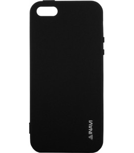 Силикон iPhone 5 black Inavi