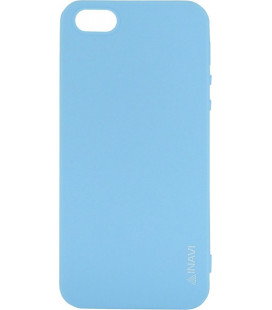 Силикон iPhone 5 blue Inavi