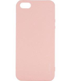 Силикон iPhone 5 peach Inavi