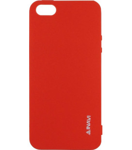 Силикон iPhone 5 red Inavi