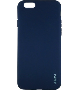Силикон iPhone 6 dark blue Inavi