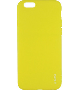 Силикон iPhone 6 yellow Inavi