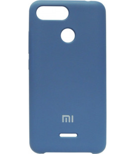 Накладка Xiaomi Redmi6 blue Soft Case