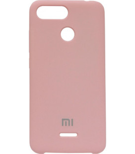 Накладка Xiaomi Redmi6 pink Soft Case
