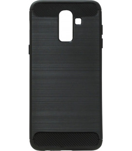Накладка SA J810 black slim TPU PC
