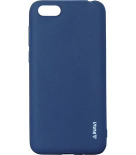 Силикон Huawei Y5 (2018)/Honor 7A dark blue Inavi