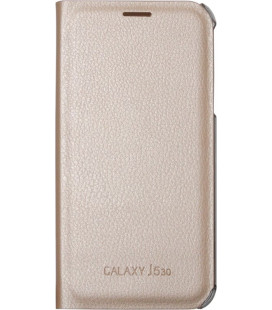 Чехол-книжка SA J530 gold Clear Cover