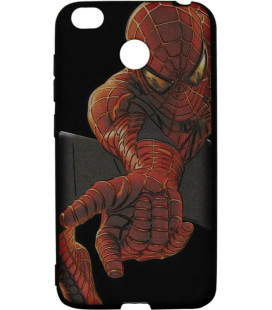 Силикон Xiaomi Redmi4X 3D Spiderman black