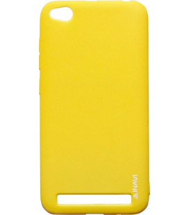 Силикон Xiaomi Redmi5A yellow Inavi
