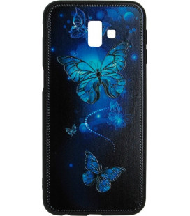 Накладка SA J610/J6+ Butterflies blue Night case