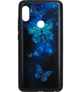 Накладка Xiaomi Redmi Note5/5Pro Butterflies blue Night case