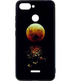 Накладка Xiaomi Redmi6 black Moon Luminous