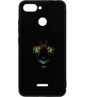 Накладка Xiaomi Redmi6 black Tiger Luminous