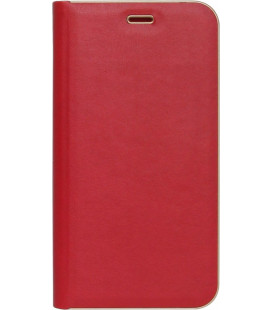 Чехол-книжка Xiaomi Redmi Note5/5Pro red leather Florence