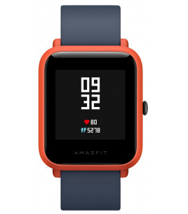Sport watch Xiaomi Amazfit Bip Lite Youth Edition Black/Red Гарантия 3 месяца