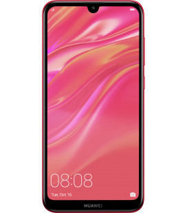 Huawei Y7 2019 3/32GB Coral Red UA-UCRF Офиц. гар. 12 мес.