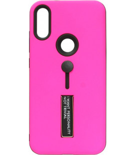 Накладка Xiaomi Mi Play hot pink Hold Soft Touch