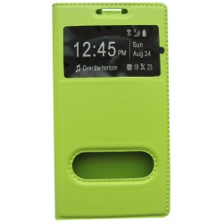 Чехол-книжка Lenovo VIBE P1m green Window